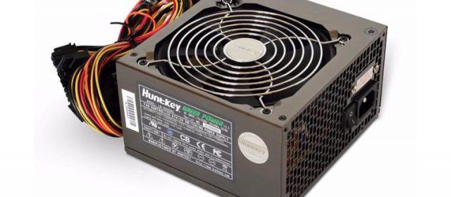 Ремонт блока питания ATX 500W HuntKey LW-6500HG